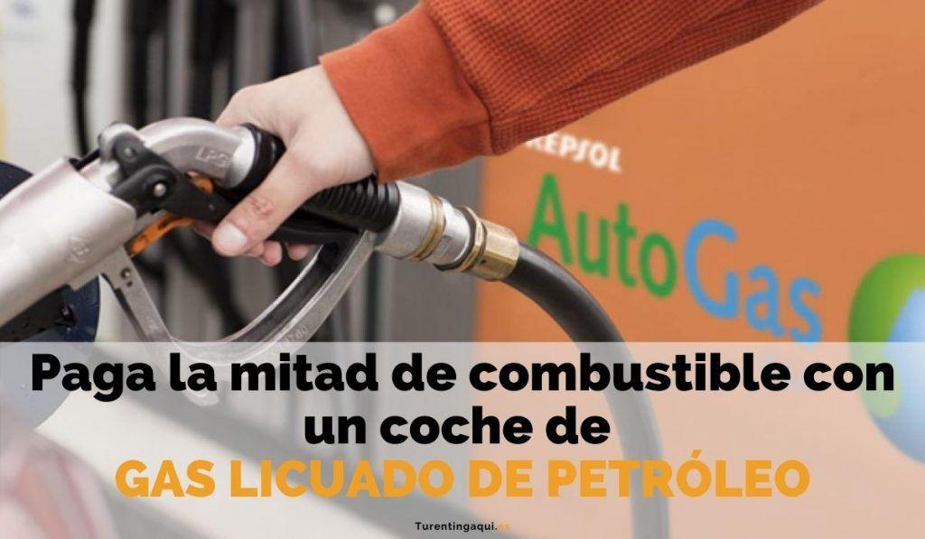 Paga la mitad de combustible con un coche de Gas Licuado de Petróleo (GLP)