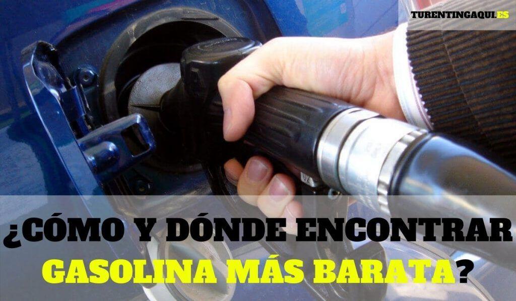 ¿Cómo y dónde encontrar gasolina más barata?