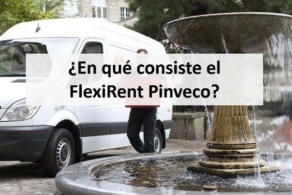 ¿En qué consiste el FlexiRent Pinveco?